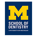 University of Michigan School of Dentistry logo.